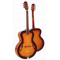Buy Deluxe F Hole Whole Solid Wood Acoustic Guitar / Western Guitar Professional at wholesale prices