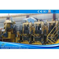 Quality Large Size Yellow ERW Pipe Mill Pipe Making Machine Round Shape Max 25m / Min Speed for sale