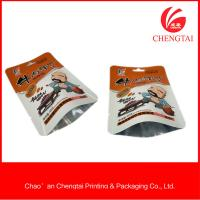 Quality Sachet packaging use and  metallic material three side seal bag for sale