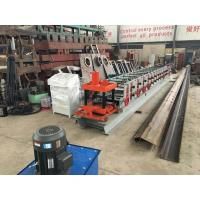 Quality Fully Automatic C Purlin Roll Forming Machine 1.5T Capacity With Switch Easily for sale