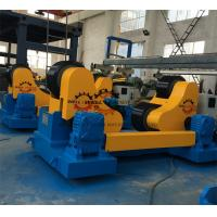 Coated PU Wheel Self Aligning Rotator , Pipe Welding Rollers 400mm Diameter