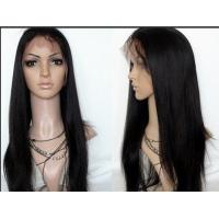 Quality Natural Black Lace Front Human Hair Wigs Shedding Free Queenlike Hair for sale