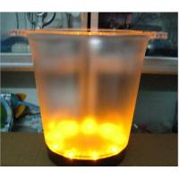 Quality illuminated led ice color changing battery bucket 7313 for sale