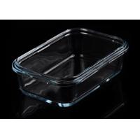 Buy Dinner Large Clear Glass Salad Bowls With Lids , Glass Fruit Bowls at wholesale prices