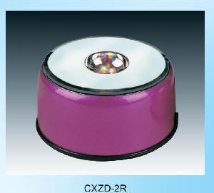 Quality Crystal Rotary LED Light Base (CXDZ-2R) for sale