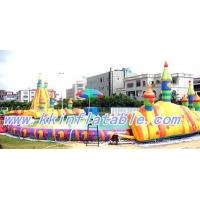 Quality Outdoor Rental PVC Above Ground Inflatable Swimming Pools for Amusement Water Park for sale