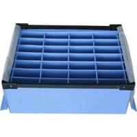 Quality Large Conductive Fire Resistance Corrugated Plastic Boxes For Partition for sale
