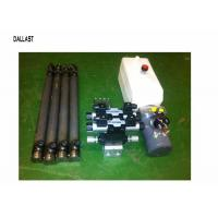 Quality Hydraulic Power Pack Work with Double Acting Cylinder Remote Control 220 Voltage for sale