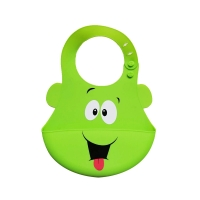 Quality 100 % Silicone Baby Bibs BPA Free FDA / SGS Certificated for sale
