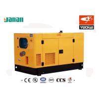 Quality 50HZ 60HZ Diesel Standby Generator Residential / Industrial Use With 72A Current for sale