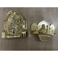 Quality PP new material casket accessories corner coffin furniture corner22# gold silver Or Copper for sale
