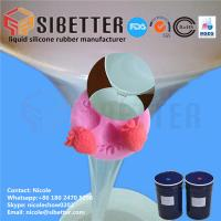 Quality Food Grade RTV 2 Liquid Moulding Silicone Rubber for Fondant Mold for sale