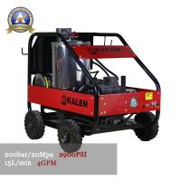 Quality hot water pressure washer 200bar 15L/MIn for sale