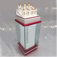 Quality cosmetic showcase of acrylic display stand for sale