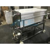 Quality Ace SUS 304 Stainless Steel Precise Frame Filter Press for sale