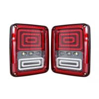 Quality ABS Material Car Turn Signal Lights / Jeep Wrangler Tail Lights With USA And Euro Plug for sale