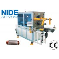 Quality Automatic Horizontal Coil Inserting Machine With Wedge Feeding Mode , Controlled by PLC for sale