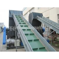 Waste Recycling Plastic Pet Bottle Crusher Machine , PVC pipe shredder for sale