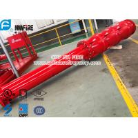 Quality Big Flow 4 Stage Vertical Shaft Turbine Fire Pump , 4500 Usgpm Deep Well Pump for sale
