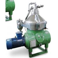Quality Disc Stack Centrifuge for Mineral Oil with self-cleaning bowl for sale