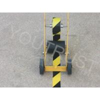 Quality Custom Visiable PVC Warning Tape High Stability Easy Transversal Tearability for sale