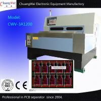 Quality V Cut PCB Depaneling Machine / PCB Separate 2mm Blade Thickness for sale
