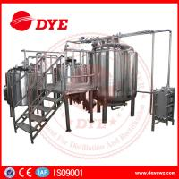 Quality Energy Efficient Beer Making Machine Home Brew Equipment PLC Or Touch Screen for sale