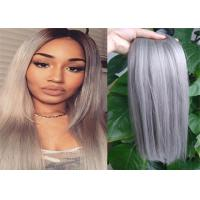 Quality Two Tone Color Peruvian Human Hair Extensions Ombre , Pastel Ombre Hair Extensions  For Braiding for sale