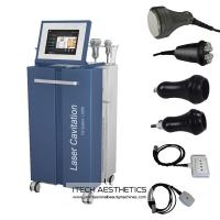 Quality Vacuum / 40Khz Cavitation / RF / Lipo Laser Slimming Machine For Fat Removal for sale