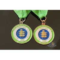 Buy cheap Sailboat Or Rowing Metal Award Medals Die Casting Processing With Soft Enamel from wholesalers