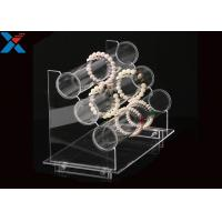 Quality Transparent Acrylic Display Rack Jewelry Bracelet Watch Display Stand Durable for sale
