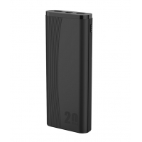 Quality 152mm Dual USB Power Bank 20000mah Portable Charger Fast Charging for sale