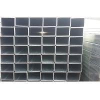 Quality Q195 Zinc Galvanized Square Steel Tubing For Structural Pipe DIN1626 GB6728-2002 for sale