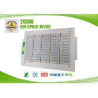 Quality CRI >75Ra 200w  LED Canopy Lights With Mean Well Driver , Led Lights Canopy Gas Station for sale