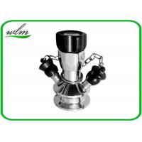 Quality Manual Operated Hygienic Sample Valves With Tri Clamp Sample Inlet Connection for sale