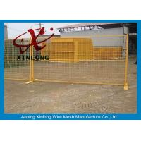 Quality Professional Temporary Barrier Fencing , Temporary Site Fencing Removable for sale