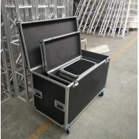 Quality Black Lowest Cubic Meter Of 3 In 1 Flight Aluminum Tool Cases Easy To Moving for sale