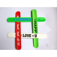 Quality Silicon slap wristbands for sale