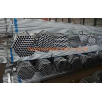 Quality Q235 Q345 Pre Galvanized Steel Tubes For Construction Od 15mm - 168mm for sale