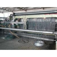 PVC / Galvanized Gabion Machine / Hexagonal Wire Mesh Machine SGS TUV