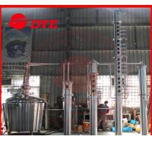 Quality Vodka Copper Relux Column , Craft Distillery Equipment Distillery for sale