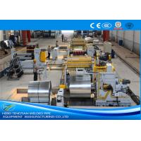 Quality Steel Metal Automatic Slitting Machine / Coil Rewinding Machine for sale