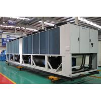 R407C Screw Air Cooled Heat Recovery Unit With Spiral Axial Fan 85 - 470 Tons