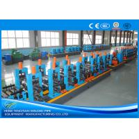 Quality Adjustable Pipe Size Steel Pipe Production Line Carbon Steel With 100m / Min Running Speed for sale