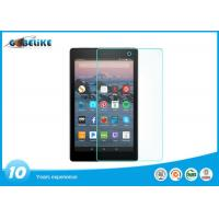 Cell Phone Clear 2.5 D Tempered Glass Screen Protector Scratch Resistant For Fire HD 8
