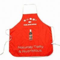 Quality Promotional Apron, Customized Colors are Accepted for sale