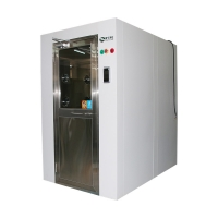 Buy cheap Lacquering plate air locked room automatic air shower with Face recognition from wholesalers