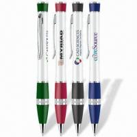 Quality Stylish Sleek Pens with Lacquer Finish Barrel and Silver Trims, Twist Action Mechanism for sale