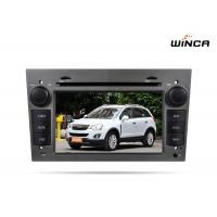 Quality Auto radio gps navigation for OPEL Zafira Car DVD with Capacitive Touch Screen for sale