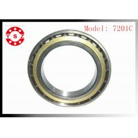 Quality NSK Ball Bearings Chrome Steel Smooth Rolling High Precision 7201C for sale